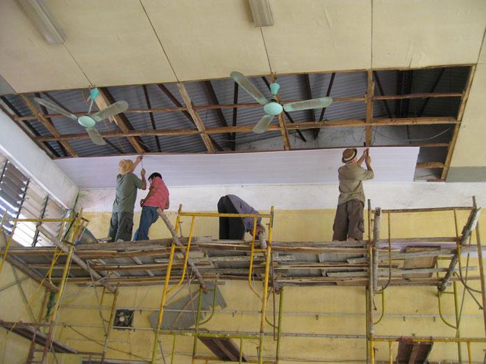 Sửa chữa xây dựng dân dụng và công nghiệp